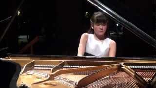 "Umi Garrett, 12yr. - Debussy ""Clair de Lune"" for encore in Houston recital"