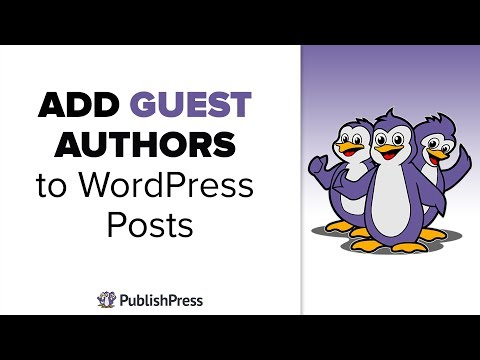 How to add Guest Authors to WordPress posts