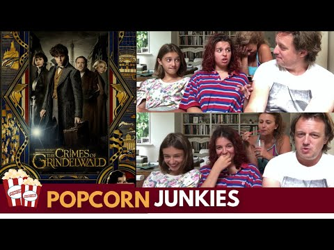 Fantastic Beasts Crimes of Grindelwald Comic Con Trailer Nadia Sawalha & Family Reaction