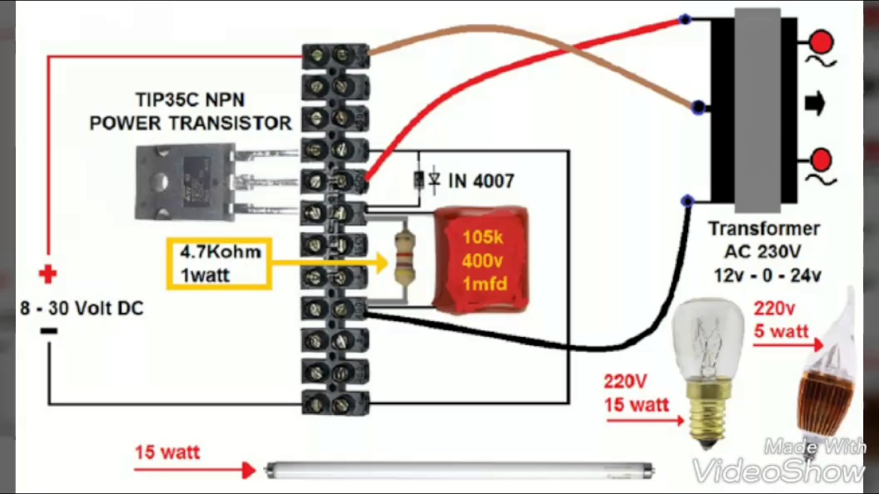 Various Types Of Electronic Circuits Youtube 5v To 12v Inverting Switching Regulator Electronicslab
