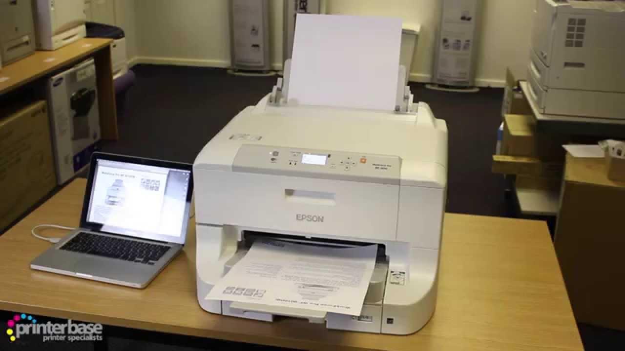 Epson WorkForce Pro WF-8010DW A3 Colour Inkjet Printer Review