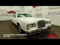 DustyOldCars 1978 Lincoln Continental Mark V SN:1962
