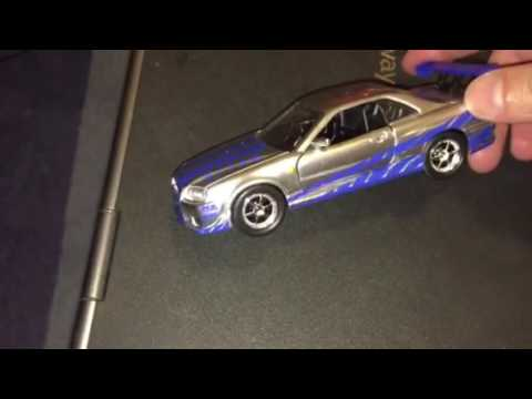 Jada toys 2 Fast 2 Furious Nissan Skyline 1/32 Review