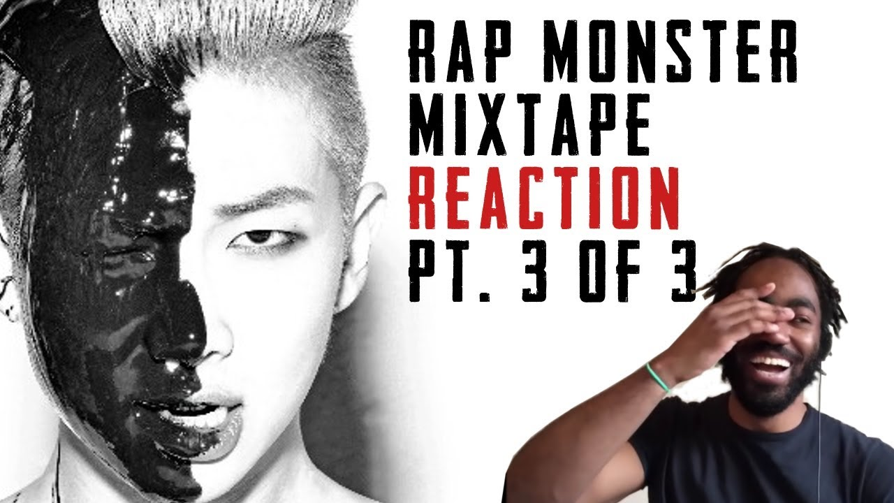 Bts Rm Rap Monster Full Mixtape Reaction Part 33 Youtube