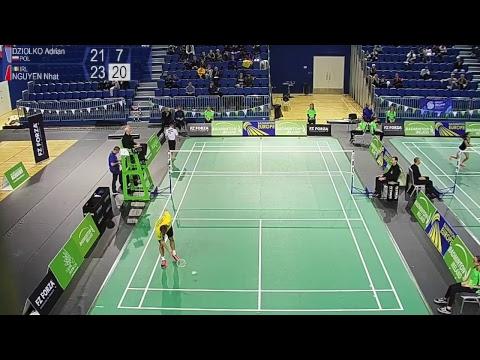 DZIOLKO (POL) vs NGUYEN (IRL) - FZ Forza Irish Open 2017 - MS, SF