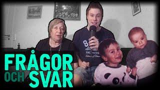 Frågor och Svar - #38 - Mormor är med och svarar på frågor! (Svenska)