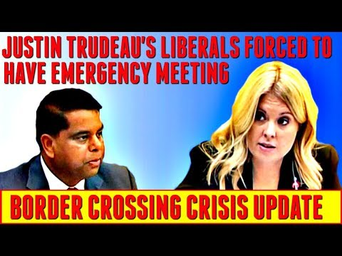 Border Crossing Update: Justin Trudeau's Liberals Forced To Have Emergency Meeting