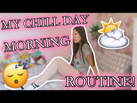 MY CHILL MORNING ROUTINE 2018! | Amy Wragg