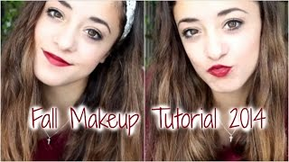 Fall Makeup Tutorial Thumbnail