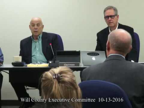 Will County Executive Committee 10 13 2016