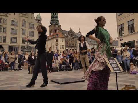 Flamenco dance in the Copenhagen street // 15 july 2016 // SweetYasio