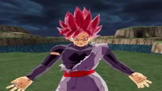 Black Goku Super Saiyan Rose XV2 Remake VS Bulma DBS ,Vegeta y Goku SSJ Blue XV2  Dragon Ball Z Ten