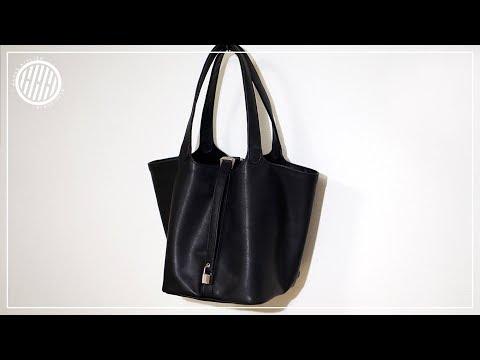 [Leather Craft] MAKING A SHOPPER BAG