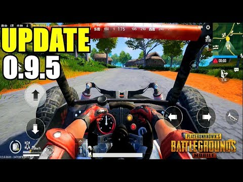 PUBG MOBILE I UPDATE 0.9.5 IS OUT!!  Lightspeed Chinese Version Gameplay (Android) HD