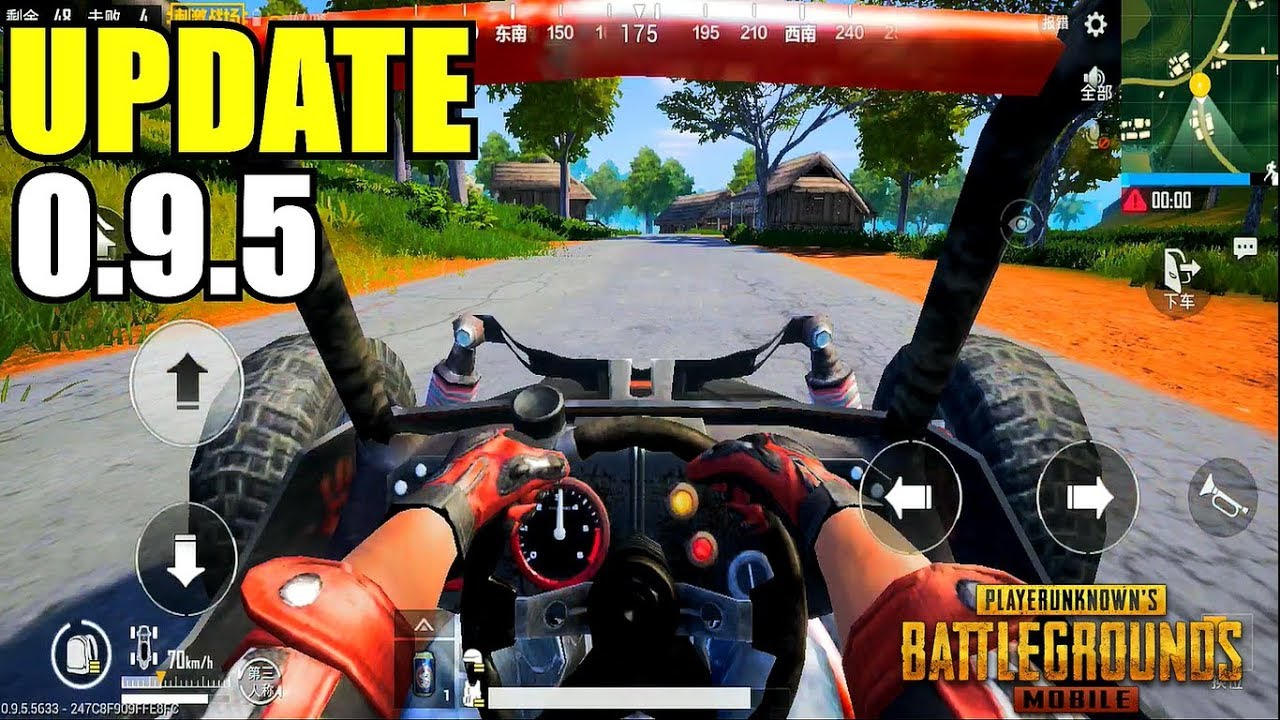 PUBG MOBILE I UPDATE 0 9 5 IS OUT!! Lightspeed Chinese Version Gameplay  (Android) HD