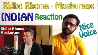 vuclip Muskurane - Arijit Singh cover by Ridho Rhoma INDIAN REACTION | SPEXPLX