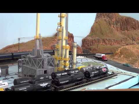 AT&SF Railroad in N Scale-Texas