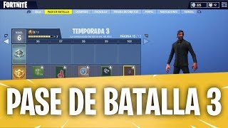 FORTNITE 🌟 BATTLE PASS 3 🌟 ALL LEVELS, SKINS, OBJECTS, BAILES AND MUCH MORE!
