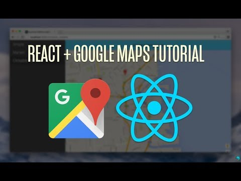 React Js tutorial - google map integration