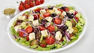 Salata Greceasca | Jamilacuisine