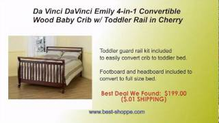 Da Vinci Davinci Emily 4 In 1 Convertible Crib In Cherry Reviews