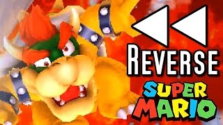 super mario all bowser deaths in reverse 1985 2015 wii u to nes