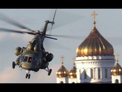 Вертолет Ми-171Ш заход