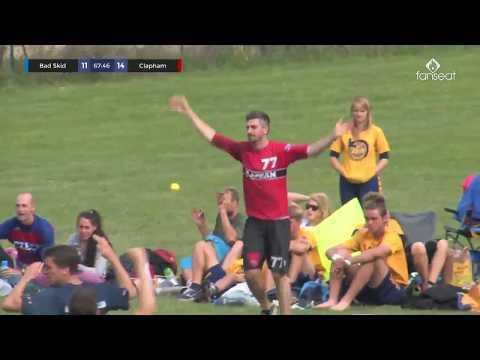EUCF 2017 - Clapham vs Bad Skid - Open Final - Ultimate frisbee