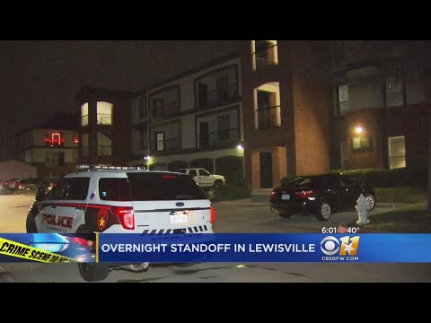 Lewisville Man Arrested After Hours-Long Standoff With SWAT Team