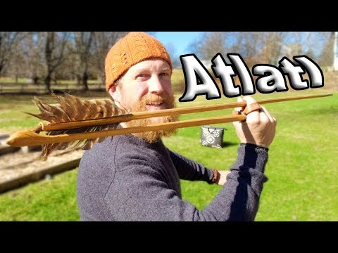 Atlatl in Vermont And Stuff I Made Growing Up Here
