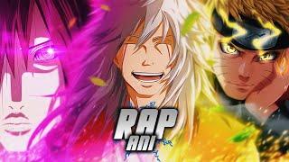 Rap - Pela Paz 『 Jiraya, Nagato e Naruto 』 | AniRap (Prod. Hunter)