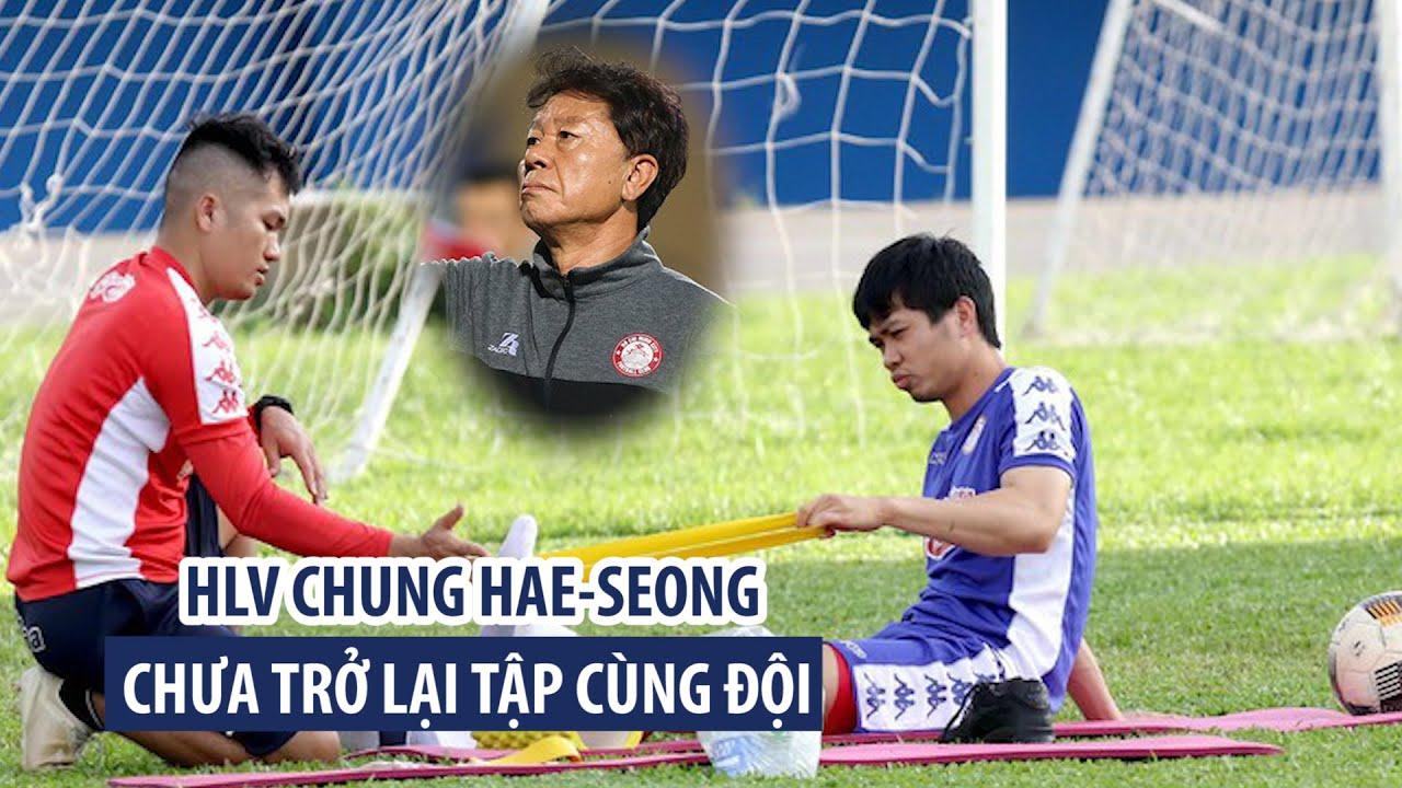Công Phượng phải tập riêng vì mới nhổ răng khôn, HLV Chung Hae-seong vẫn chưa tập cùng đội