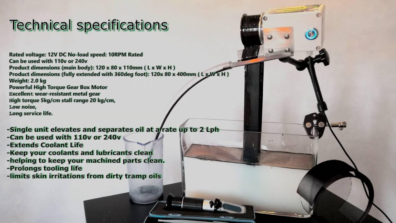 Oil Skimmer Belt Oil Skimmer Device To Remove Unwanted