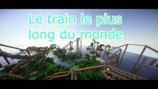 Minecraft | Le train le plus long du monde | TEASER #2