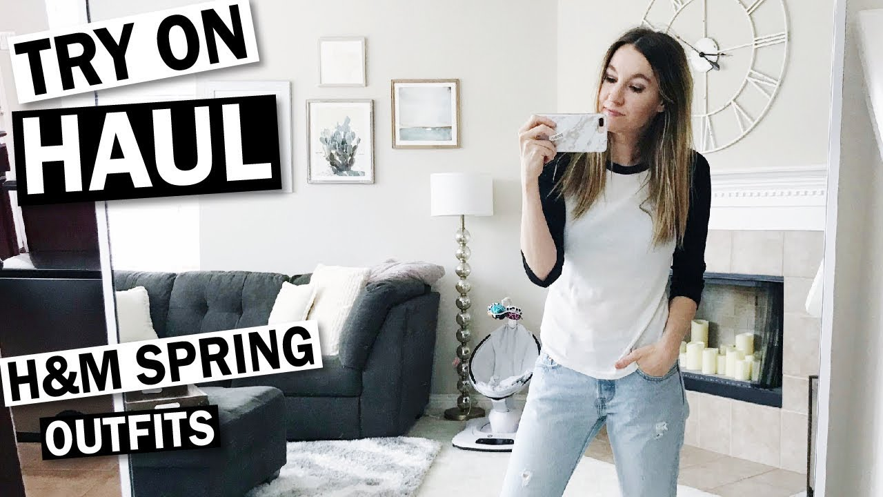[VIDEO] - H&M Spring Try On Haul & Outfit Ideas 7