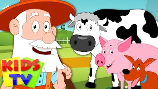 Old MacDonald Had A Farm | Baby & Childrens Nursery Rhymes Video Songs | Preschool Rhymes For Babies