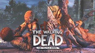 THE WALKING DEAD TELLTALE SEASON 4 Episode 2 ALL ENDINGS - Ending & Final Choice (+ Secret Ending)
