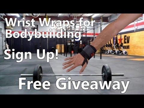 Wrist wraps bodybuilding Giveaway! WinWristWraps.info