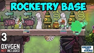 ROCKETRY UPGRADE BASE #3 - Oxygen Not Included - Rockets, Gassy Moos and more!