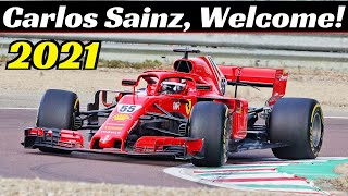 January 27, 2021, will be remembered as the carlos sainz debut day at an f1 ferrari single-seater wheel. we are fiorano circuit for third of five ...