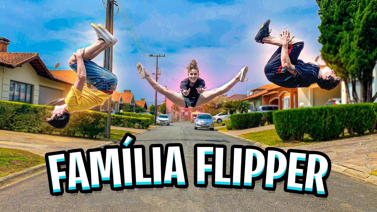 A ROTINA DA FAMÍLIA FLIPPER!