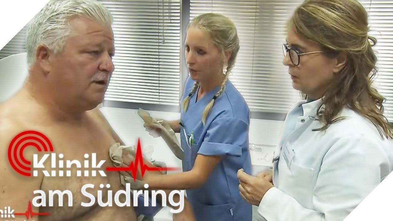 Mann beim Frauenarzt! Was macht er hier? | Klinik am Südring | SAT.1 - YouTube