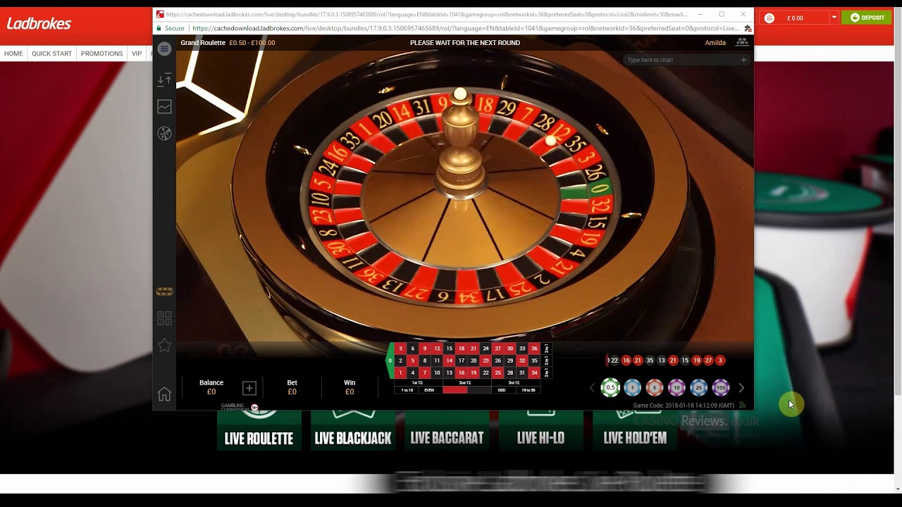 Ladbrooks Online Casino