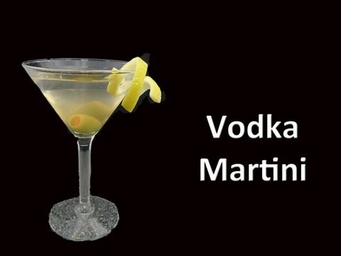 Perfect Vodka Martini Cocktail Recipe