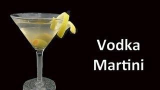 Perfect Vodka Martini Cocktail Recipe