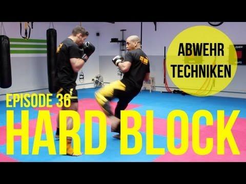 Kickbox Training #36 - Hard Block / Abwehrtechnik / Kickboxen / Boxen Lernen / Köln / Fitness