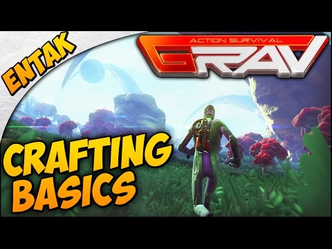GRAV Gameplay ➤ Crafting Weapons & Armor, Factory, Armory - My Mistakes - [SURVIVAL GUIDE Part 2]