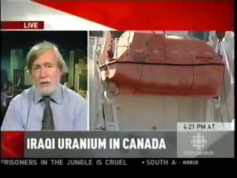 Iraqi Uranium is Secretly Shipped to Canada