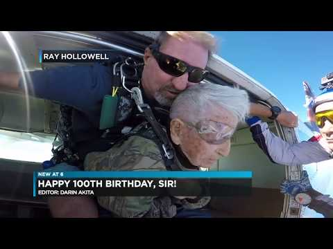 100 Year Old World War II D Day Survivor Polito