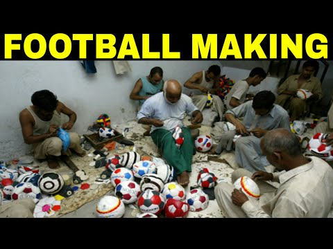 How To Make FOOTBALL ⚽ Soccer Making ✔How Football is made ✔MEERUT ✔DELHI ✔INDIA ⚽⚾🏈🏐🏀🏏🏑🏒🏉